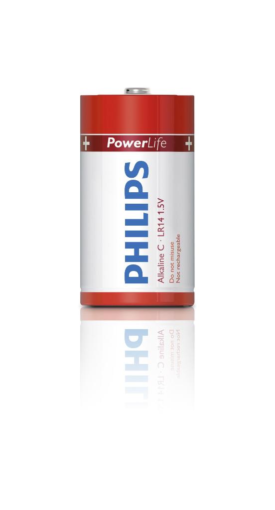 DrogistTop: Philips Alkaline Batterijen Lr14 C 1,5 Volt 4stuks van ...