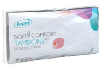 Beppy Soft+ Comfort Tampons Wet 4st