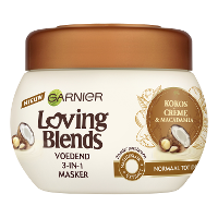 Garnier Loving Blends Masker Kokos (300ml)